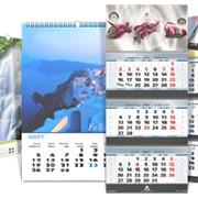 Календари (настенные, настольные, карманные, сувенирные) фото