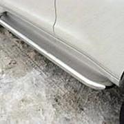 Пороги Toyota LC Prado 150 2009-наст.время (нерж. сталь 60,3 мм) фото