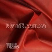 Ткань Кожзам ( красный ) 1108 фото