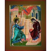 Икона праздника Благовещение Пресвятой Богородице фото