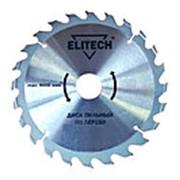 Диск пильный ELITECH 160х32/30мм х 1,8мм 48Т для дерева фото