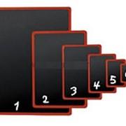 BB A3 Черная табличка для нанесения надписей фото