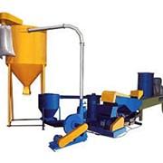 Комплекс переработки пленки ЛПВПП-СВ10 для переработки пленочных полимерных отходов, таких как: технологические отходы пленочного производства в виде обрезков или некондиционной пленки и т.п фото
