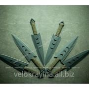 Набор метательных ножей PC040 6 шт 40гр фото
