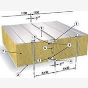 Сендвич-панель SPB W (Isotherm SCw) для стен, 140 мм, наполнение мин. вата Стеновые сэндвич-панели фото