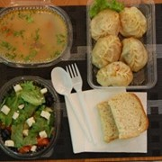Вкусные и полезные ОБЕДЫ с доставкой в офисы г.Алматы фото
