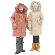Модель №71 Пальто для девочки + Сумка фото