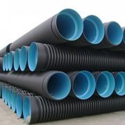 Трубы канализационные (Гофрированные) фото