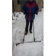 Снегоуборщик, снегоочиститель, лопата снегоуборочная, ручной грейдер фото