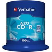Компакт диск CD-R 700мБ Verbatim Datalife в тубе 100шт. фото
