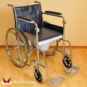 Инвалидная коляска LK 6005-46W с санустройством фото