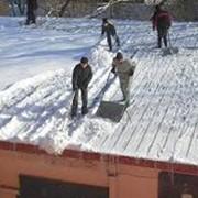 Чистка снега николаев фото