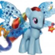 Игрушка MLP Пони Рейнбоу Дэш Делюкс с волшебными крыльями фото