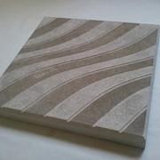 Плитка тротуарная Волна, 30х30х3 см фото