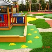 Установка детских площадок фото