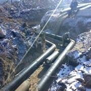 Монтаж сетей водопровода. фото