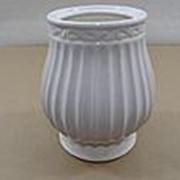 Ваза Тюльпан диам. 10 см выс. 16 см керамика глазиров. фото
