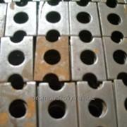 Шайба-скоба плоская для изолирующей втулки фото