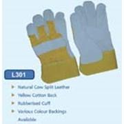 Перчатки AB grade cow split leather full palm - L301 фото