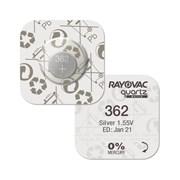 Батарейка для часов Rayovac 362 (SR 721 SW) фото