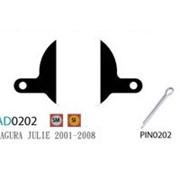 Колодка дисковая Ashima AD0202-SM-S w/pin фото