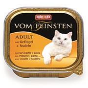 Animonda 100г конс. Vom Feinsten Adult Влажный корм для взрослых кошек Паста с мясом домашней птицы фото