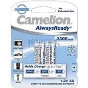 Аккумуляторы CAMELION NH-AA2300ARBP2 AlwaysReady Rechargeable фото
