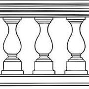 Фигурные столбики (балясины) фото