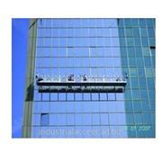 Фасадные платформы,Строительные люльки,Подъемники,Сточные трубы - GEDA, Аренда оборудования фото