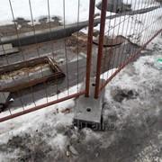 Ограждения переносные для строительных площадок фото