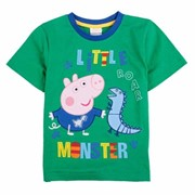 Одежда для девочек 5pieces /lot new 2014 summer peppa pig baby boys t shirt fashion kids apparel brand baby boys tunic top peppa pig short t-shirt, код 1860477078 фото