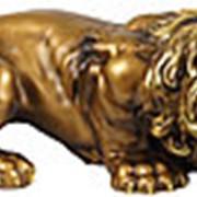 Скульптура Лев / Символ власти и мужества 55х14х15см. арт.МК1107 фото