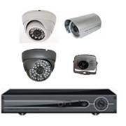 Видеонаблюдение комплект на 4 камеры фото