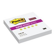 Post-it Super Sticky Блокнот суперклейкий 3M Post-it 654R-SW Super Sticky, 76х76мм, 90л, белый фото