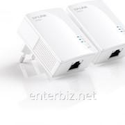 Комплект nano адаптеров для создания сети Ethernet на основе электросети TL-PA2010KIT DDP, код 60038 фото