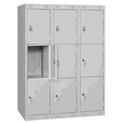 Металлический ячеечный шкаф.Камеры хранения для гостиниц, санаториев и пансионатов. фото