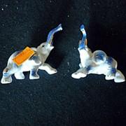 Сувенир Пара слонов 4413 12х8см фото