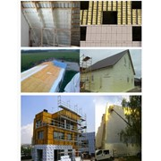 Теплоизоляция домов, Бесшовная теплоизоляция пенополиуретаном методом напыления фото