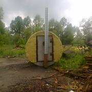 Оборудование для производства древесного угля. фото