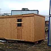 6х2.4 м. Блок-контейнеры бытовки деревянные.Утепленные фото