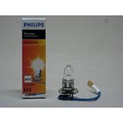 Автолампа H3 (55) PK22s+30% PREMIUM 12v Philips фото