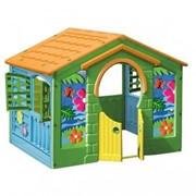 570 Игровой домик Деревенский домик Marian Plast, 130х111х115 см (Израиль) фото
