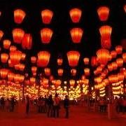 Летающие небесные фонарики фото