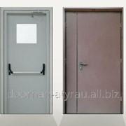 Противопожарная дверь DoorHan одностворчатая 1200х2050 мм фото
