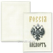 Обложка для паспорта Двуглавый орёл Артикул: 032001обл001 фото