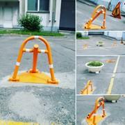 Парковочный барьер фото