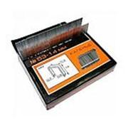 """Скобы для мебельного степлера каленые 14x0,7 мм 1000 шт. тип 53 """"Stelgrit"""" фото"""