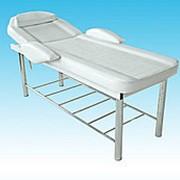 Стационарный массажный стол / косметологическая, смотровая кушетка KO-4 фото