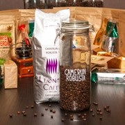 Cafea boabe Camerun Robusta фото