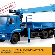 Крано-манипуляторные установки DONGYANG, в Алматы, в Казахстане фото